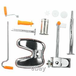 Home Manual Noodle Maker Stainless Steel Pasta Press Making Machine Kitchen New