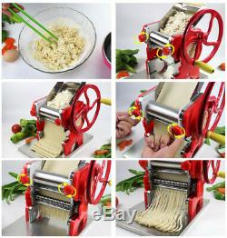 Home Manual Pasta Machine Mult-functional Noodle Dumpling Maker Stainless Steel
