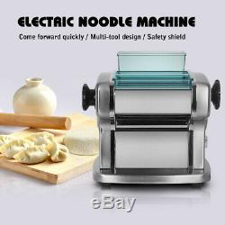 Household Electric Noodle Machine Pasta Maker Dumpling Wrapper Stainless Steel