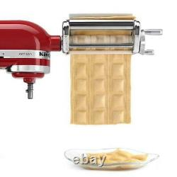 Household Stainless Steel Ravioli Maker Machine Attachment For Kitchen Aid Mixer