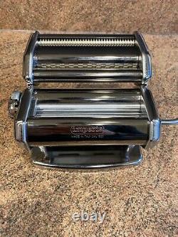 Imperia I-pasta pasta machine (manual) with box, New Italian