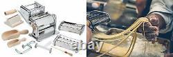 Imperia Pasta Maker Machine- Deluxe 11 Piece Set w Machine, Attachments