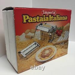 Imperia Pasta Ravioli Roller Maker Machine Set Pastaia Italiana 151