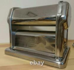 Imperia R220 Pasta Maker Hand Crank Machine w / Cutter 2mm