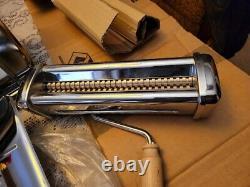 Imperia RMN Electric Pasta Maker Machine Roller Sheeter 120V With Attachment
