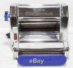 Imperia Restaurant Electric Pasta Machine Maker RMN 220V With 1.5mm Attachment