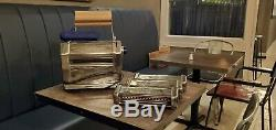 Imperia Restaurant Electric Pasta Machine Maker RMN 220V With 3 Attachments