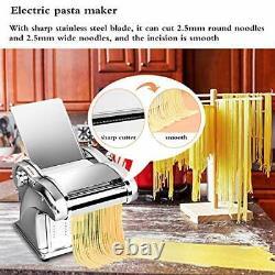 JIAWANSHUN Electric Noodle Maker Machine Semi-automatic Pasta Maker Machine f