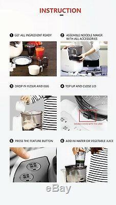 Joyoung Intelligent Automatic Pasta Noodle Maker Machine Cutter JYN-L6