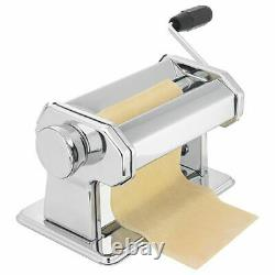 Judge Pasta Machine With 9 Pasta Dough Thickness Choices From Steel Rollers