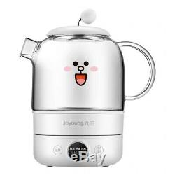 LINE FRIENDS x Joyoung Brown Cony Sally Cooking Pot Electric Kettles Oven Gift