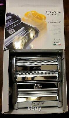 MARCATO ATLAS 150 Wellness Pasta Machine -Lasagne / Fettuccine / Taglioni Maker