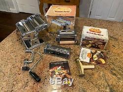 MARCATO Atlas No 150 Pasta Noodle Maker Machine Ravioli cutter Spaghetti cutter