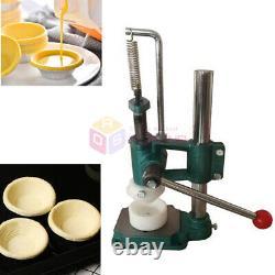 Manual Egg Tart Maker Tart Shell Molding Pressing Machine Pasta Dough Extruder