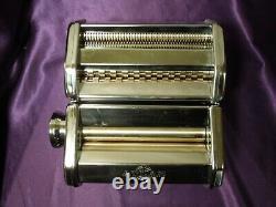 Manual Marcato Atlas 150mm Deluxe Pasta Machine 1048534 With Box
