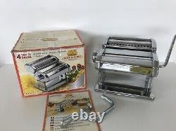 Marcato Atlas 150 Pasta Machine Cutter Made In Italy Boxed Never Used