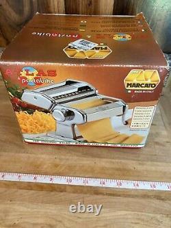 Marcato Atlas 150 Pasta Machine Includes Pasta Bike Cutter & Manual Maker Press