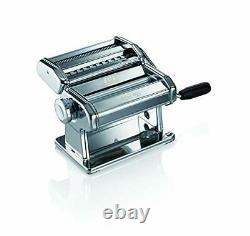 Marcato Atlas 150 Pasta Machine Pasta Maker Chrome Steel Silver NEW