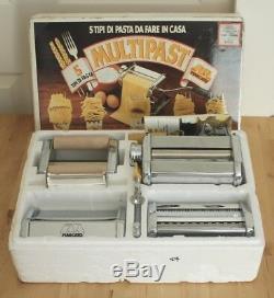 Marcato Atlas Multipast 5 Pasta Maker Machine Lasagna Ravioli Spaghetti