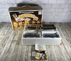 Marcato Atlas Multipast 5 Pasta Maker Machine Lasagna Ravioli Spaghetti CLEAN