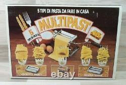 Marcato Atlas Multipast 5 Pasta Maker Machine Lasagna Ravioli Spaghetti Nice