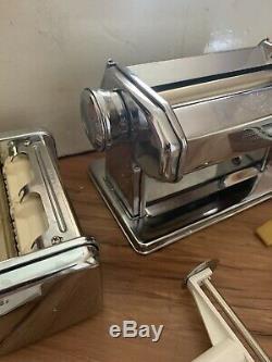 Marcato Atlas Multipast Pasta Maker Machine Lasagna Ravioli Spaghetti (Nice!)