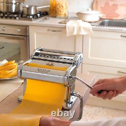 Marcato Atlas Pasta Machine Made in Italy Silver
