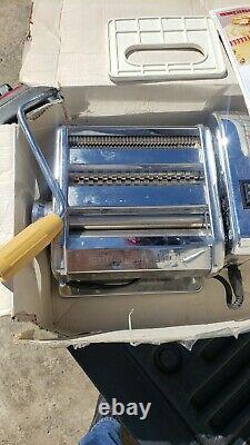 Marcato Atlas Pasta Machine With Ampiamotor Electric Ampia Motor