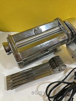 Marcato Atlas Pasta Machine With Electric Motor Used