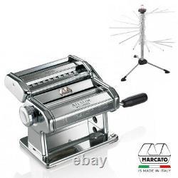 Marcato Atlas Wellness Pasta Making Machine 150mm 2700 + Drying Rack 2760