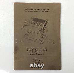 Marcato Otello Limited Edition, Manual Pasta Machine, Made in Italy