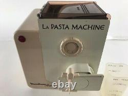 Moulinex Regal La Pasta Machine Mod V717 with Disks Made In France Works Clean