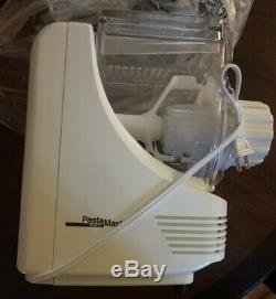 NEW POPEIL P400 RONCO Automatic Pasta Maker Machine 7 Dies +Accessories NIBOpen
