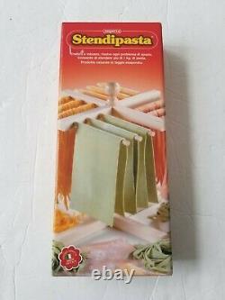 New & Boxed Imperia (Pastaia Italiana) Pasta Making Machine & Drying Rack
