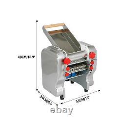 New Commercial Electric Dough Roller Sheeter Noodle Pasta Dumpling Maker Machine