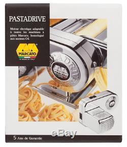 New Marcato Atlas Pasta Machine Motor Attachment Maker 2 Speeds Italy Rolling