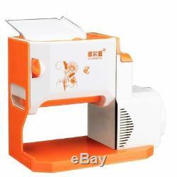 New Orange Electric Automatic Spaghetti Dough Pasta Noodle Maker Machine
