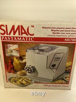 New Rare Simac Pastamatic MX 700 Automatic Electric Pasta Maker Machine Italian