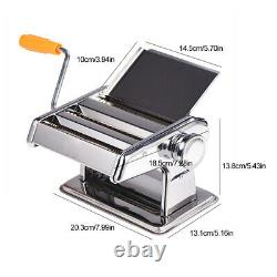 Noodle Making Machine Spaghetti Hand Cutter Manual Pasta Maker Manual Noodle