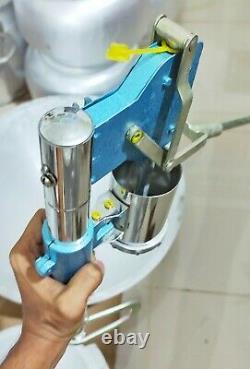 Noodle Pasta Dumpling Maker Press Machine Manual Stainless Steel Commercial Home