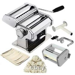 Noodle Pasta Maker Stainless Steel Nudeln Machine Lasagne Spaghetti Tagliatelle