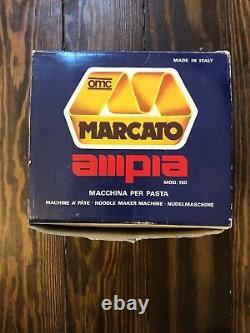 OMC Mercato Ampia Macchina Per Pasta Italian Pasta Maker Machine Gently Used