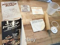 Osrow International Pasta & Dough Machine Maker Food Preparer WithBOX &Accessories