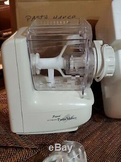 POPEIL Electric Pasta Sausage Maker P400 New in Box PASTA MACHINE