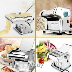 PP Electric Pasta Maker Noodle Maker Roller Machine 6 Thickness Setting 1 Cutter