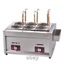 Pasta Cooker Noodles Maker Cooking Machine 6 Holes Noodle Boiler Filter Basket