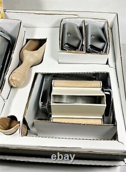 Pasta Maker Machine- Deluxe 11 Piece Set W Machine, Attachments, Recipes And Acc
