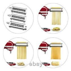 Pasta Maker Machine Roller Cutter For Kitchen Aid Mixer Kitchen Attachment Steel