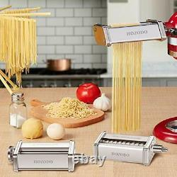 Pasta Maker Machine for Kitchenaid Mixer Attachments with 3 Pieces Pasta Roll