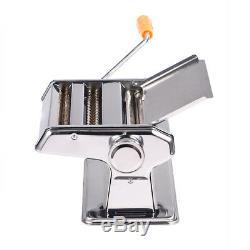 Pasta Maker Roller Machine Dough Making Home Fresh Noodle Maker Stainless Steel